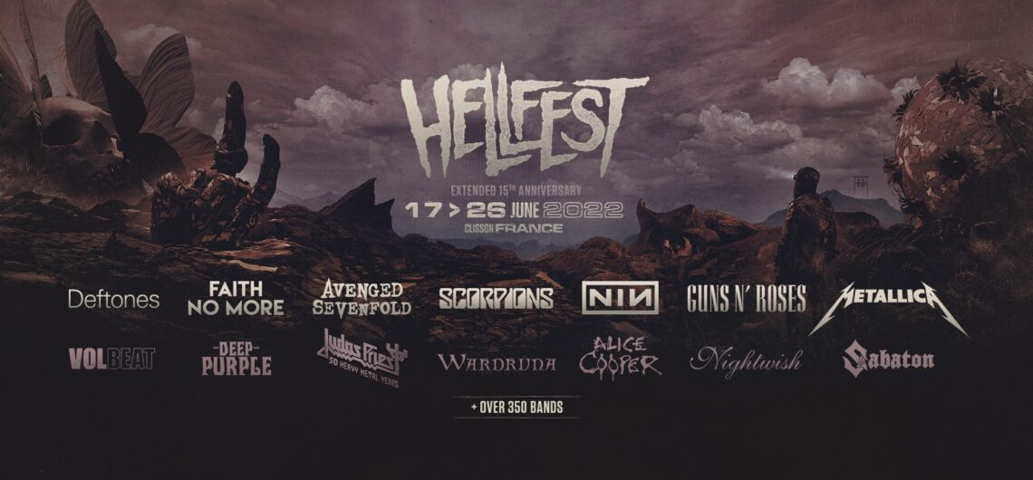 Viajes al Hellfest 2022 y Packs de Hotel y Traslados