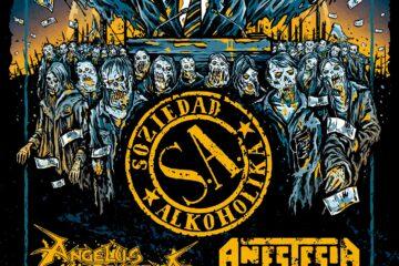Viajes al concierto de S.A., Angelus Apatrida y Anestesia en Vitoria el 11 de Diciembre